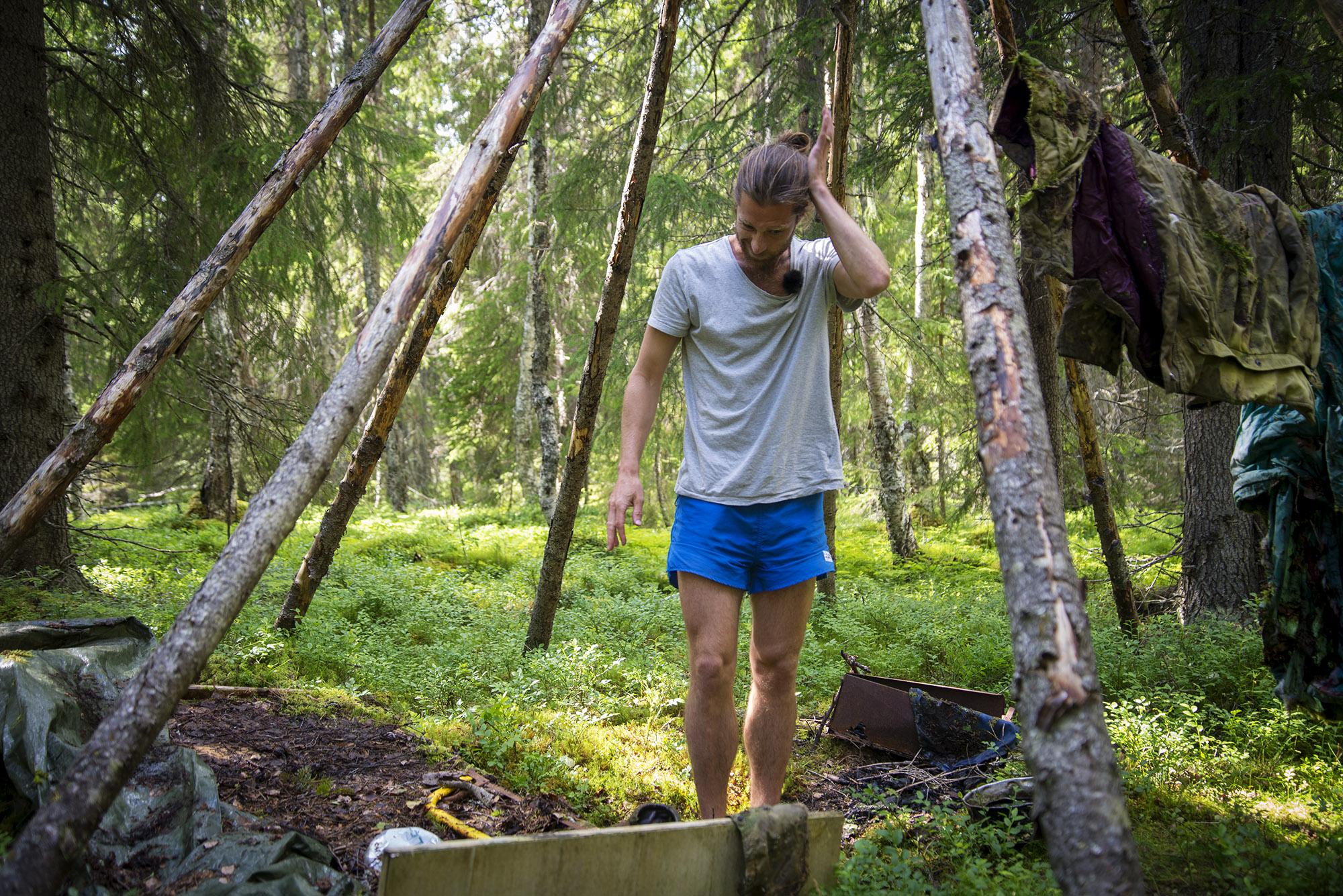 Markus Torgeby The Runner Tentipi Granit Classic Event Nordic Tipi