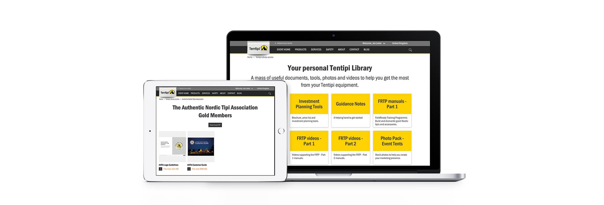 Tentipi library