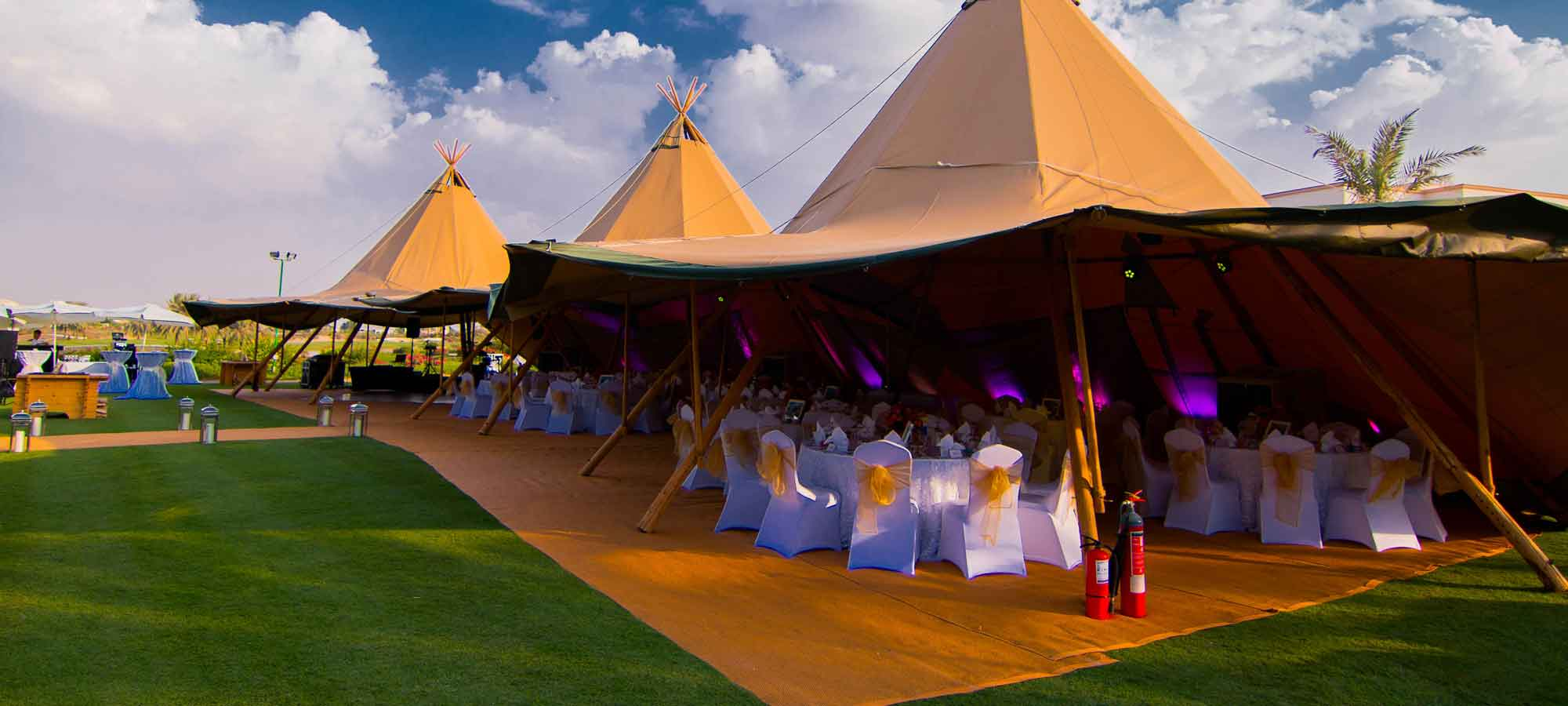 Tentipi matting - purchase event teepee