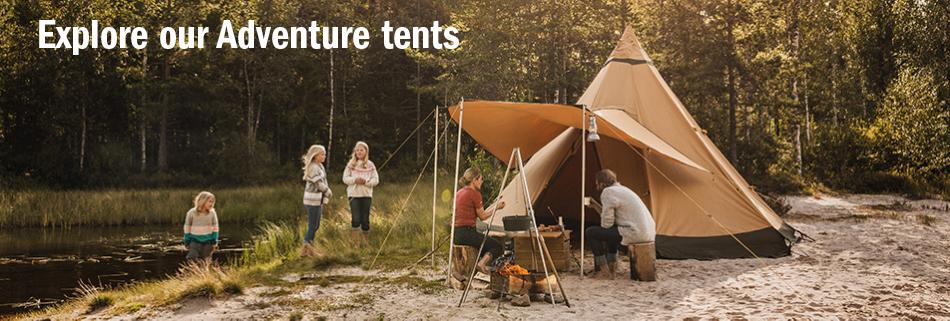 Explore our Adventure tents