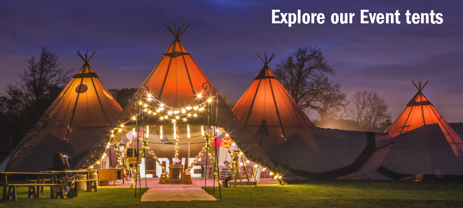 Explore our Event tents