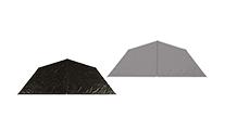 Half inner tents tentipi