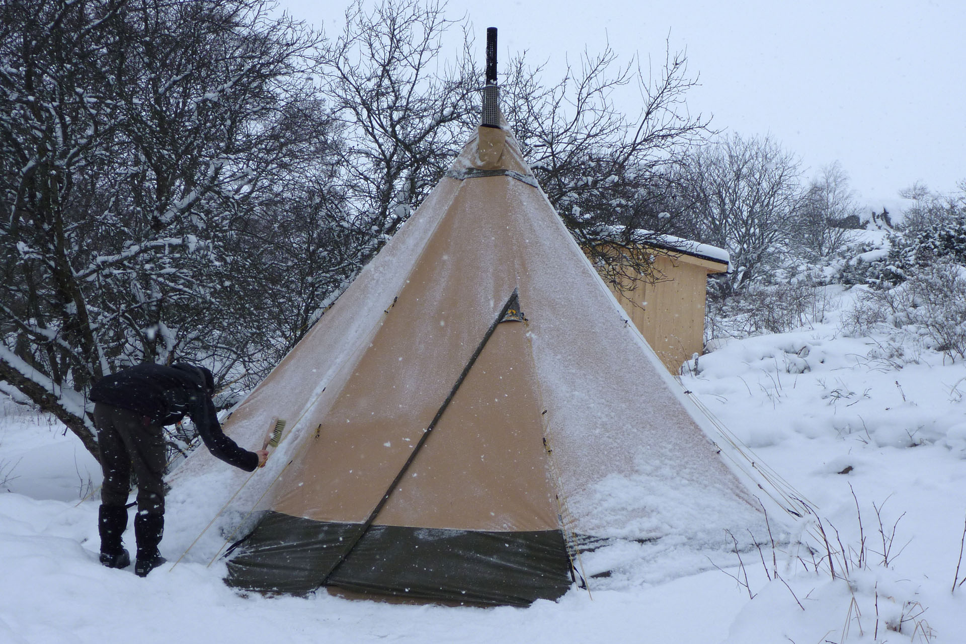 One Year in Our Tentipi Nordic Tipi