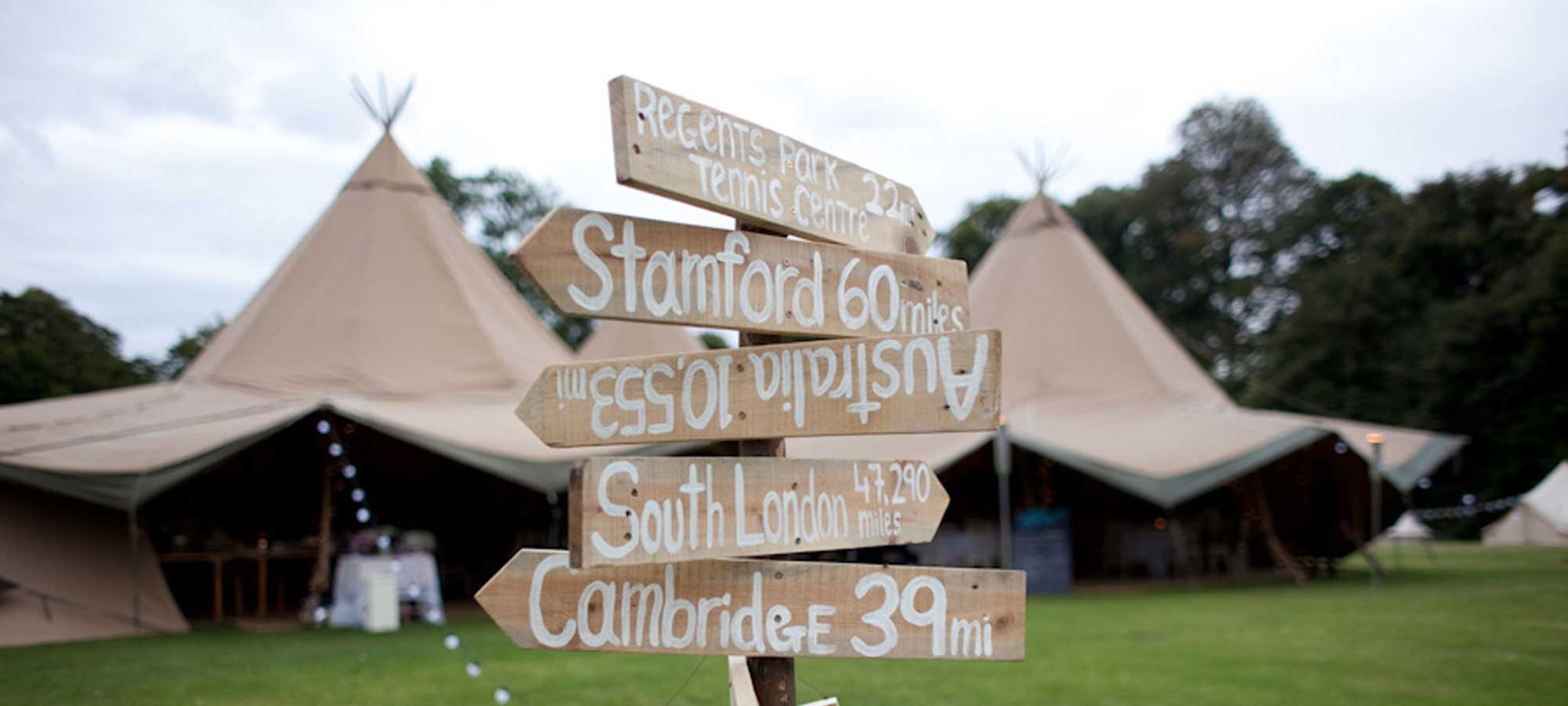 Tentipi event tipi signage - event tipis to buy