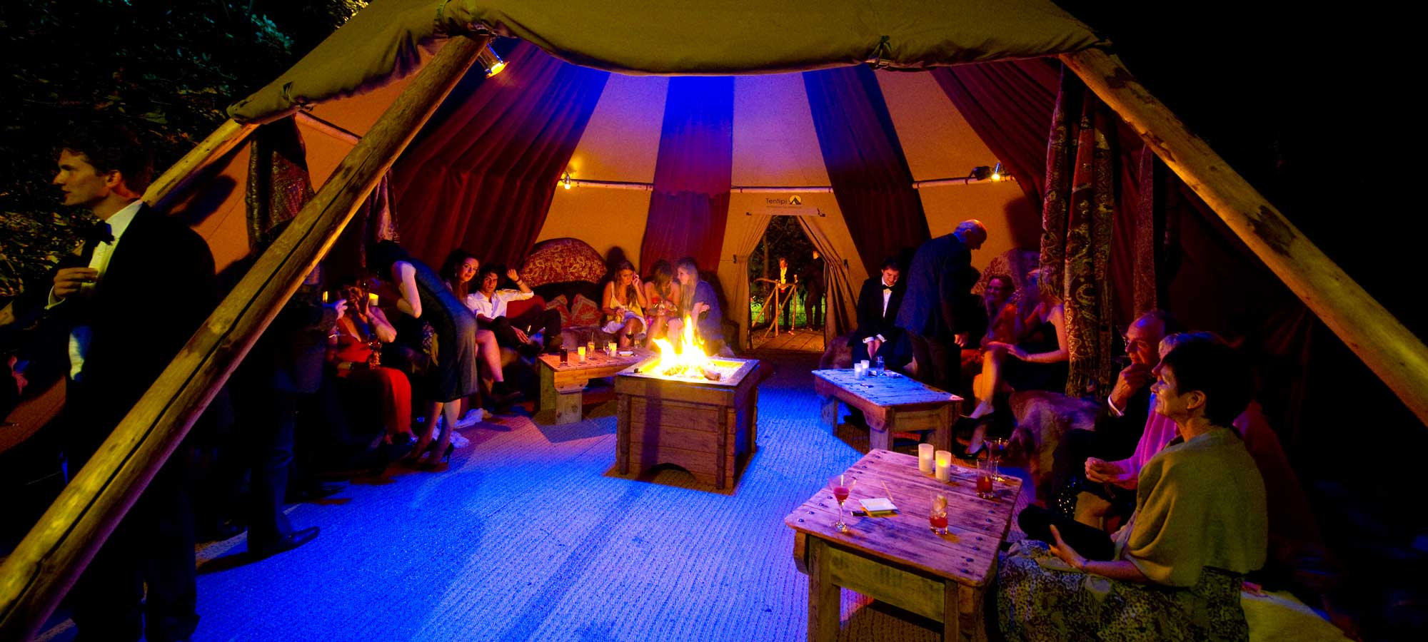 Tentipi event interior - giant hat tipi to buy