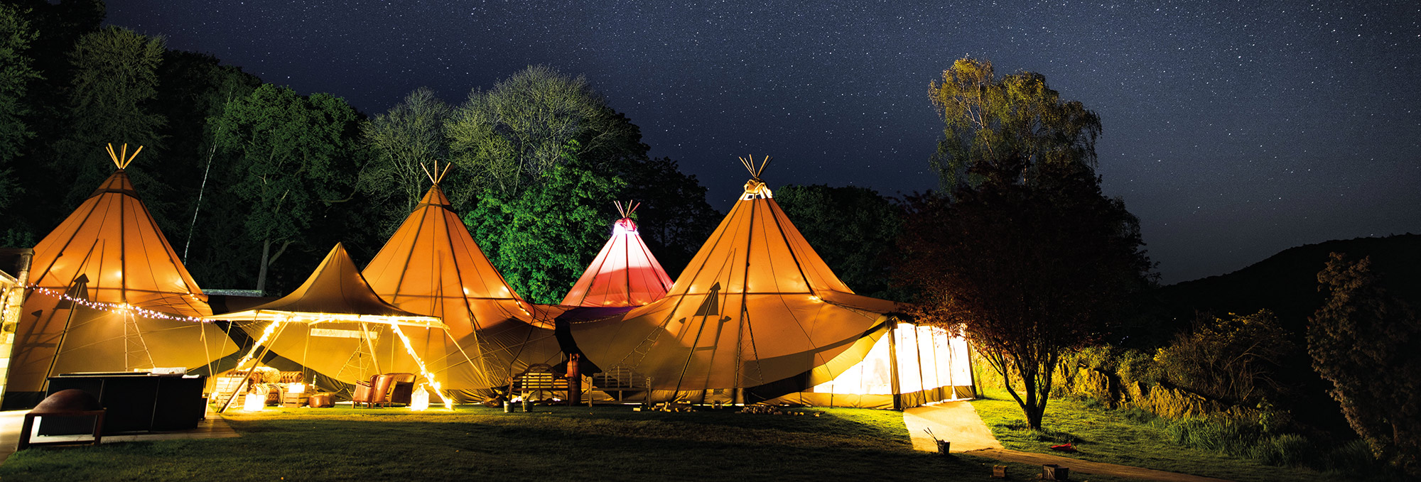 Special Event Tipis Stars