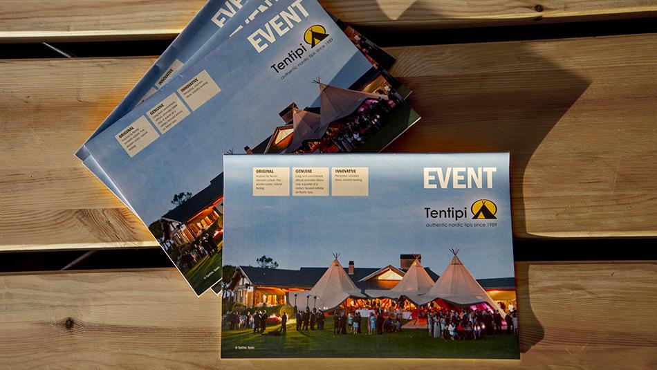 Tentipi ROW Event catalogue