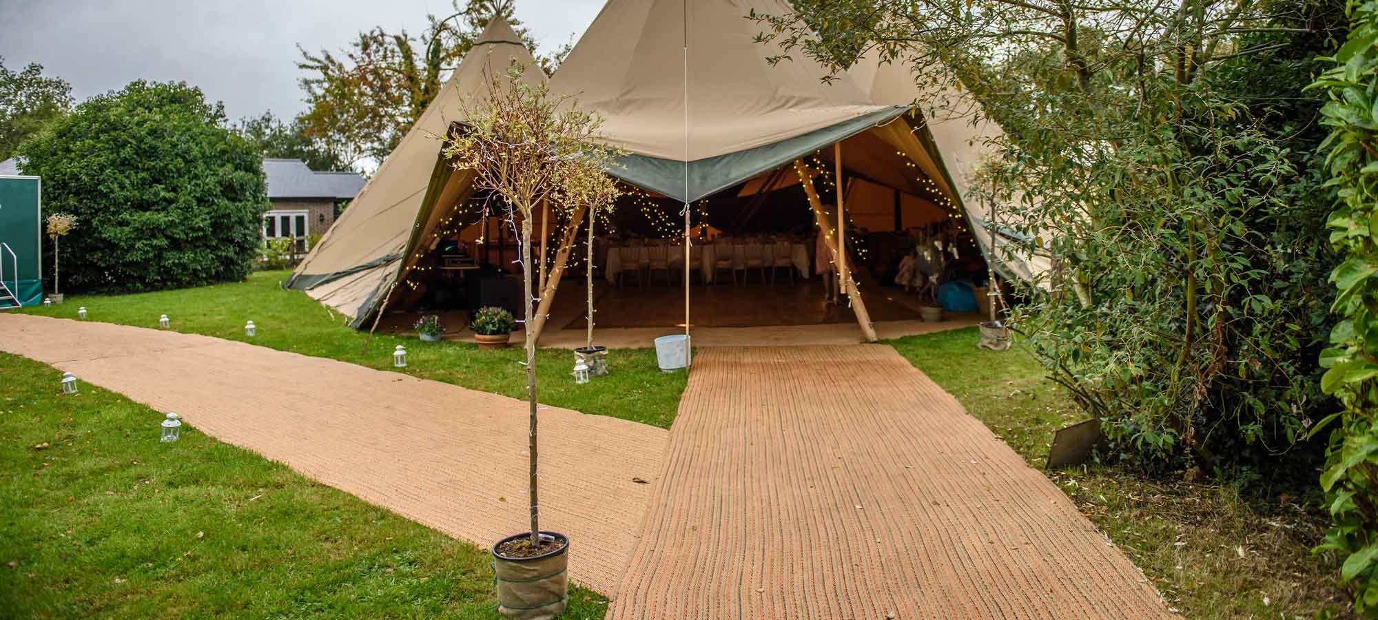 Tentipi matting - giant hat kata tents to buy