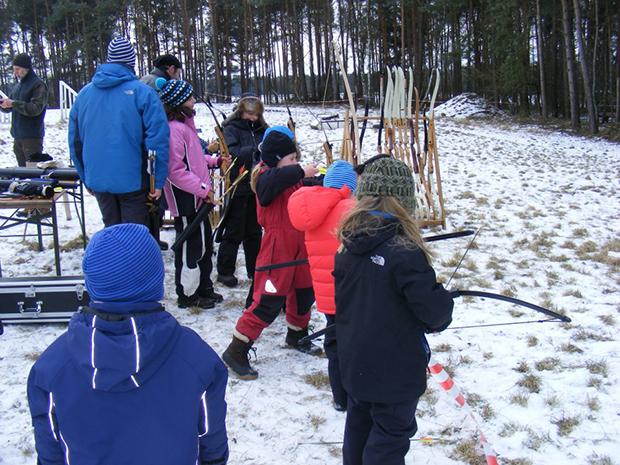 Tentipi Camp archery