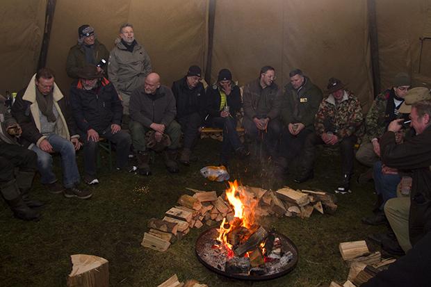 Tentipi Camp Winter